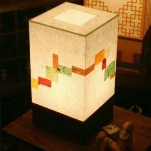 [한지등] 사각 창호지조각55