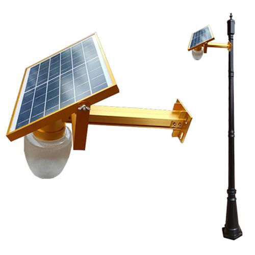 6와트 태양광 벽등 (부착형 미니 가로등)